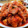 Dakgangjeong korean fried Chicken Spicy